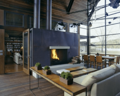 fireplaces are a distinctive feature of farm houses (1)